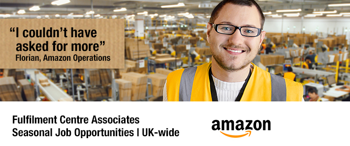 Job Opportunities with Amazon