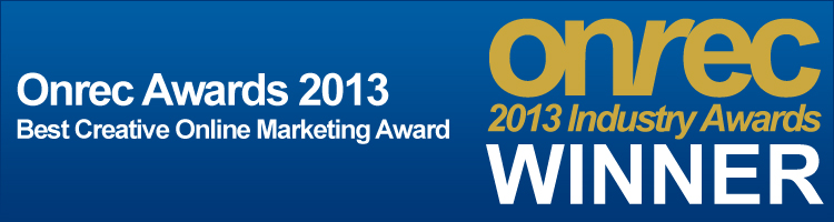 Onrec Awards 2012 - Innovative Online Marketing Award