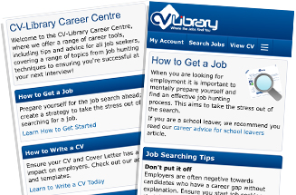 CV-Library's Career Centre