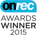 OnRec Industry Awards 2014 Winner
