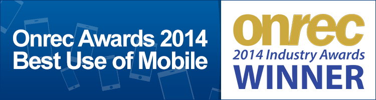 Onrec Awards 2014 - Best Use of mobile