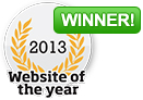 2013 - Website of the Year