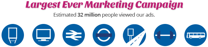 Largest Ever Marketing Campaign